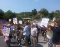 DAVUTLAR - Kuşadası'nda 'Jeotermal Enerji Santralleri' Protestosu