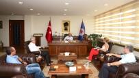 REKTÖR - Mersin Yelken Yat Ve Su Sporları Kulübü'nün Yeni Yönetiminden Çamsarı'ya Ziyaret