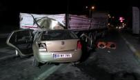 AKARYAKIT İSTASYONU - Nazilli'de Feci Kaza Açıklaması 4 Ölü