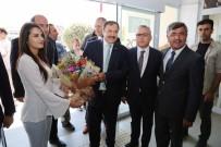 ÖMER KıLıÇ - Orman Ve Su İşleri Bakanı Prof. Dr. Eroğlu, Niğde Belediyesi'ni Ziyaret Etti