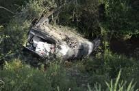 Otomobil Uçuruma Yuvarlandı Açıklaması 1 Ölü, 2 Yaralı
