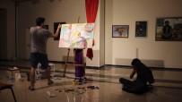 MUSTAFA DOĞAN - Sanatların İlişkisini Arbane Eşliğinde Resim Çizerek Gösterdi