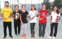 ŞANLIURFA - Şanlıurfalı Tenisçiler Türkiye Şampiyonasına Hazırlanıyor