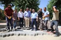 CEYHUN DİLŞAD TAŞKIN - Siirt'te Kaldırım Ve Asfalt Çalışmaları Sürüyor