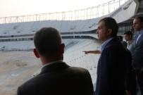 ÖMER ÇELİK - Adana Şehir Hastanesi Ve Koza Stadyumu'nu İnceledi