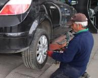 PARA CEZASI - Artık Özel Araçlar Da Kış Lastiği Takmak Zorunda