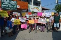 DAVUTLAR - Aydın'da JES Karşıtı Çevreciler Eylemlerini Sürdürüyor