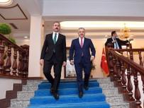 ADALET BAKANI - Bakan Arslan, Adalet Bakanı İle Milli Eğitim Bakanı'nı Ziyaret Etti
