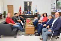 TÜRK EĞITIM SEN - Başkan Kadir Albayrak STK Temsilcilerini Ağırladı