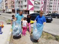 ONARIM ÇALIŞMASI - Başkan Yikit, Çocuklarla Çöp Topladı