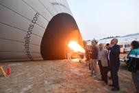 HAYRETTIN BALCıOĞLU - Denizli Valisi Karahan Pamukkale'yi Havadan İnceledi