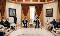 MESUD BARZANI - Dışişleri Bakanı Çavuşoğlu,  Irak Meclis Başkanı Cuburi İle Görüştü