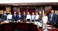 GENÇ GİRİŞİMCİLER - Emniyet Müdürü Gülveren'den GTO'ya Veda Ziyareti