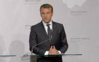 ÇEK CUMHURIYETI - Fransa Cumhurbaşkanı Macron Salzburg'ta