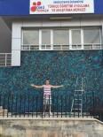 REKTÖR - Fransız Sanatçı OMÜ'ye Bir Eser Bıraktı