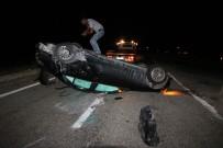 Konya'da İtalyan Turistler Kaza Yaptı Açıklaması  2 Yaralı