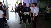 Ralli'de Araçları Yanan İki Yarışmacı Ölümden Döndü