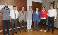 BAYAN MİLLİ TAKIM - Şampiyon Boksörden  Başkan Gümrükçüoğlu'na Altın Madalya Sözü