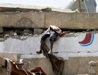 EL KAIDE - Savaş uçakları oteli vurdu! Onlarca ölü ve yaralı var