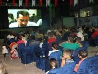 PATLAMIŞ MISIR - Serik'te 'Yazlık Açık Hava Sinema Günleri' Nostaljisi