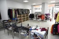 KILIK KIYAFET - Tekkeköy Belediyesi Hayır Çarşısı Bayrama Hazır