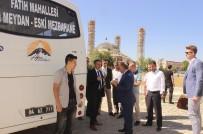 SÜLEYMAN ELBAN - Vali Elban, Belediye Otobüslerini Denetledi
