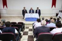 MAHMUTHAN ARSLAN - Vali Nayir, Hisarcık'ta Okul Müdürleri Ve Okul Aile Birliği Başkanlarıyla Bir Araya Geldi