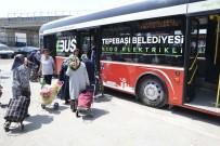 YEŞILTEPE - Vatandaşlar Pazar Servisinden Çok Memnun