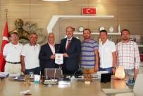 İBRAHIM ERDOĞAN - ASGD Yeni Yönetiminden Bozbey'e Ziyaret