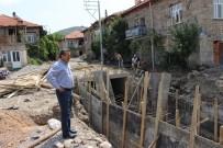 KORKULUK - Başkan Tutal, Taşkın Koruma Çalışmalarını İnceledi