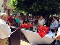 HÜSEYIN ÇAMAK - CHP'li Mersin Eski Milletvekili Son Yolculuğuna Uğurlandı