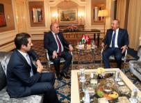 PARTİ MECLİSİ - Dışişleri Bakanı Çavuşoğlu, IKBY Başbakan Yardımcısı Talabani İle Görüştü