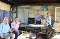 NAMIK KEMAL NAZLI - Engürü Sitesi Yönetiminden Kaymakam Nazlı'ta Veda Ziyareti