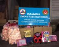GÜMRÜK MUHAFAZA EKİPLERİ - İstanbul'da Kaçak Oyuncak Operasyonu