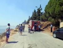 YEŞILTEPE - İzmir'deki Yangın Korkuttu