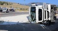 SUBAŞı - Karabük'te Trafik Kazası Açıklaması 1 Yaralı