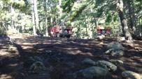 ORMAN YANGINI - Kazdağlarında Yıldırım Orman Yaktı