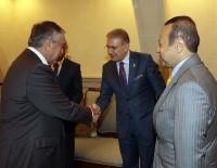 İSTANBUL AYDIN ÜNİVERSİTESİ - KKTC Cumhurbaşkanı Akıncı, Bağış Ve Aydın'ı Kabul Etti