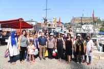 KONYAALTI BELEDİYESİ - Konyaaltı Belediyesi'nden Kadın Çiftçiler İçin Tekne Turu.