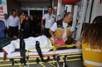 ALANYURT - Merdiven Boşluğuna Düşen Çocuk Ağır Yaralandı