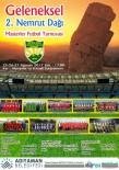 NEMRUT DAĞI - Nemrut Dağı Masterler Futbol Turnuvası'nın 2.'Si Start Alıyor