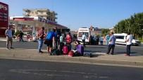 AVSALLAR - Turist Kafilesi Kazayı Ucuz Atlattı