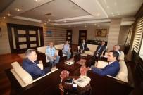 Vali Elban, Kırşehir Belediye Başkanı Cebeci'yi Ağırladı