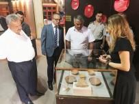 Vali Yazıcı Burhaniye'de Müzeleri Gezdi