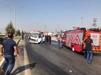 YAKIT TANKERİ - Yakıt Tankeri İle Tır Çarpıştı Açıklaması 2 Yaralı
