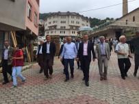 Ak Parti Trabzon Milletvekili Salih Cora İlçe Ziyaretlerine Devam Ediyor