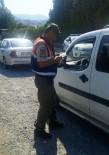 MEHMET CAN - Alaşehir'de Jandarmadan Sürücülere Uyarı