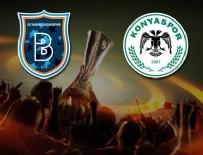 KIZILYILDIZ - Başakşehir ve Konyaspor'un Avrupa Ligi'ndeki rakipleri belli oldu