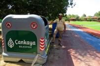 TAŞDELEN - Çankaya'da Tüm Semtlere Yeni Çöp Sistemi