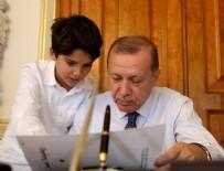 BILAL ERDOĞAN - Cumhurbaşkanı Erdoğan'dan torun paylaşımı!